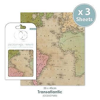 Craft Consortium Transatlantic Decoupage Papers