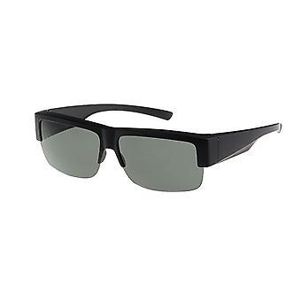 Óculos de Sol Unissex preto com lente cinza VZ0025A