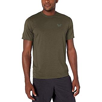 Marque -Peak Velocity Men-apos;s Tech-Stretch Short Sleeve Quick-Dry Loose-F...