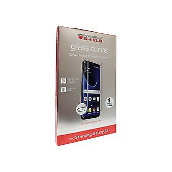 ZAGG InvisibleSHIELD Glas BildschirmSchutz für Samsung Galaxy S8 - Klar