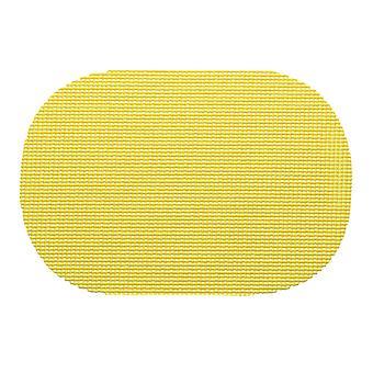 Fishnet Lemon Oval Placemat Dz.