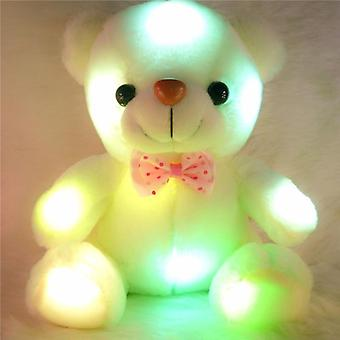 20cm Luminous, Plush And Stuffed Teddy Bear Toy