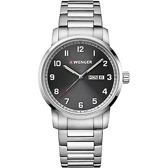 Wenger - Wristwatch - Men - Attitude - 01.1541.119 - grey, 42 mm