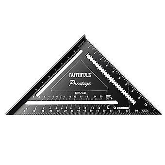Faithfull Prestige Quick Square Black Aluminium 300mm (12in) 744212