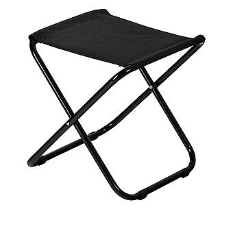 Classic Folding Stool - Lightweight Material Practical Foldable Design - Black