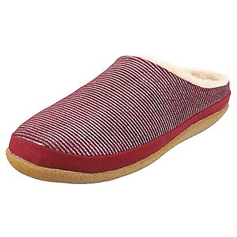 Toms Ivy Womens Slip On Shoes in Cabernet Glitter Rib