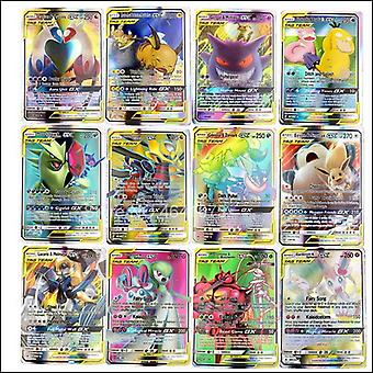 No Repeat New Pokemon Battle Game Card Vmax Tag Team Card Gx Mega Ex English Version Kids Toy