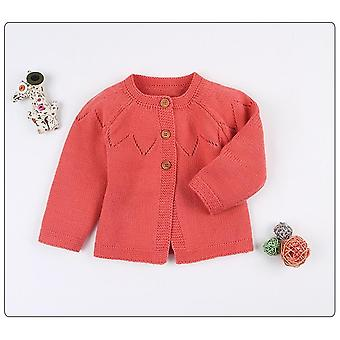 Baby Sweater Newborn Boy Girls Cardigans Autumn Toddler Long Sleeve Knitwear Jackets Spring Children's Coats