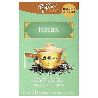 Prince Of Peace Herbal Tea, Relax 18 Bags