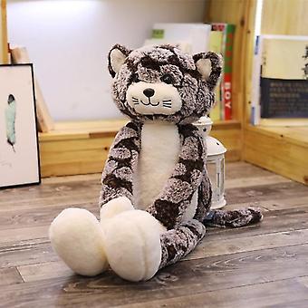 Kawaii חתול קטיפה בובות בובות חיות חמוד רך רגל ארוכה חתול בובה רך