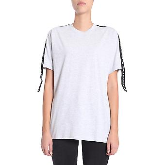 Forte Couture Fcfw173034grey Women's Grey Cotton T-shirt