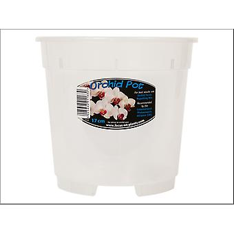Growth Technology Orchid Pot Clear 17cm POCL17M