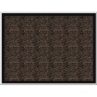 Home Label Ludlow Washable Mat Brown 50 x 80cm P00014347
