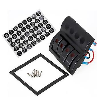PN-AF4 LED Illuminated Rocker Switch Panel Circuit Breaker Auto Fuse Car