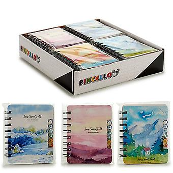 Notebook Landscape and painting 80 Sheets