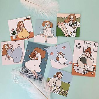 8 conjuntos bonitos fotografia criativa - Cartões Decorativos / Cartão Postal