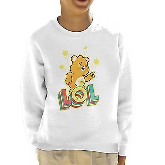 Pflege Bären entsperren die Magie Funshine Bär Lol Kid's Sweatshirt