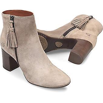 ولدت Women & apos;s ميتشي بوتس حذاء جلد أسود
