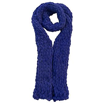 Ivy Mill Crafts UK Hand Made Scarf in Organza Gift Bag - Deep Purple