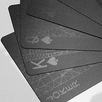 Cartes à jouer noires