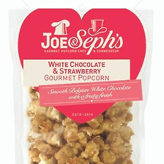Valentine's White Chocolate & Strawberry Popcorn