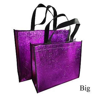 Fashion Laser Shopping Bag/foldable Eco Bag
