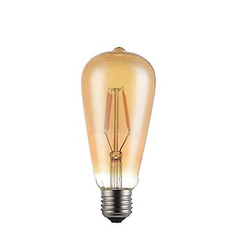 Led filament fiola becuri T45 A60 St64 G80 G95 Led Vintage Decorare Edison