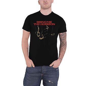أحضر لي الأفق تي قميص دمية فرقة شعار جديد الرسمية الرجال الأسود