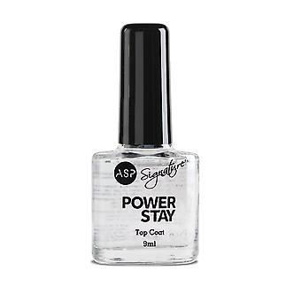 ASP Power Stay Professional Nail Lacquer Top Coat