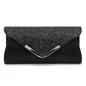 Women Lady Sequins Clutch Bag