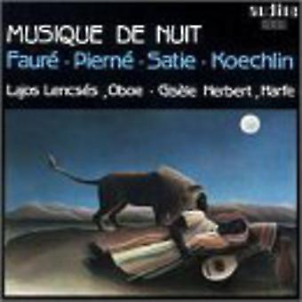 ケクラン/フォーレ/ピエルネ/サティ - 音楽 De Nuit:-ジョブによるエアロ、Piern、サティ、ケクラン [CD] USA 輸入