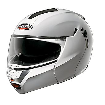 Caberg Justissimo GT Helmet Gloss White DD-Ring Fastening ACU Approved XS