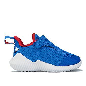 Boy's adidas Infant FortaRun Buty sportowe w kolorze niebieskim