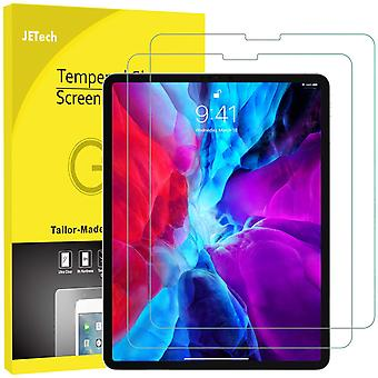 Jetech 2-pack screen protector for ipad pro 12.9-inch (2020 and 2018 release edge to edge liquid ret