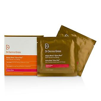Dr Dennis Gross Alpha Beta Glow Pad Self-Tanner For Body - Intense Glow 8 Towels