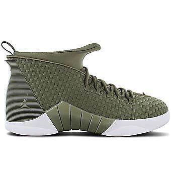 AIR JORDAN 15 Retro PSNY Woven - Men's Shoes Olive Green AO2568-200 Sneakers Sports Shoes