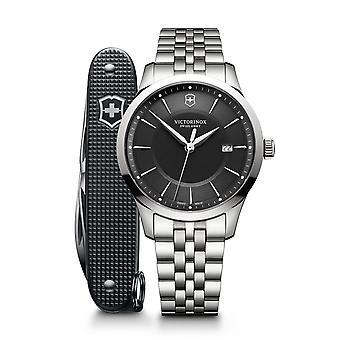 Reloj de hombre Victorinox 241801.1, cuarzo, 40 mm, 10ATM