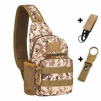 Tactical Army Shoulder/men Sling Crossbody Molle Bags/travel Hiking Hunting