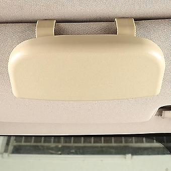 Glasses Holder, Magnetic Car Sun Visor Case Organizer, Storage Box, Sunshade