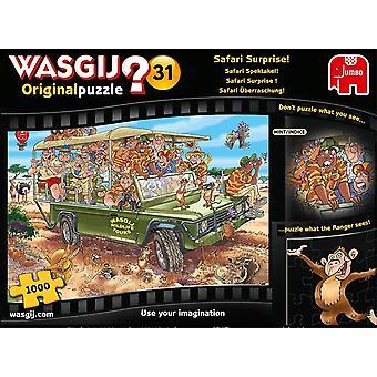 Jumbo Wasgij Original 31 - Safari Surprise 1000 Piece Jigsaw Puzzle
