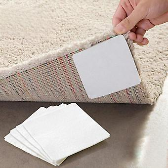 Bathroom Carpet -slip Flannel Pad Floor Carpet Foam Coral Fleece Mats Set