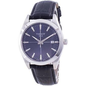 Tissot Gentleman Kvartsi T127.410.16.041.01 T1274101604101 100m Men's Watch