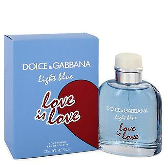 ضوء الحب الأزرق هو الحب Eau De Toilette رذاذ بواسطة دولتشي & غابانا 4.2 أوقية Eau De Toilette Spray