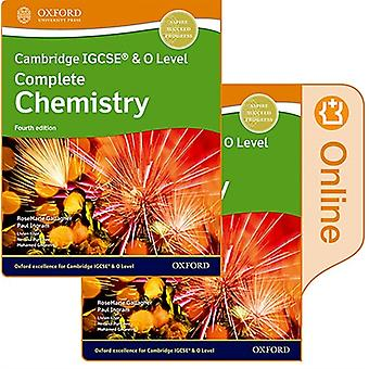 Cambridge IGCSE R O Level Complete Chemistry Print and Enhanced Online Student Book Pack Fourth Edition par RoseMarie GallagherPaul Ingram