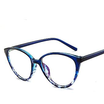 Fashion Women Cat Eye Men Myopia Optical Glasses