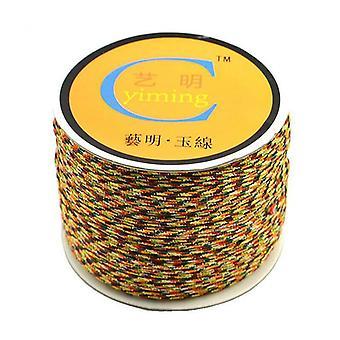 Cotton Nylon Cord Thread String Diy Beading Braided Bracelet Jewelry Making