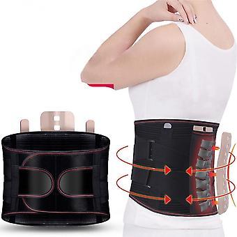 Self-heating Magnetic Steel Plates Waist Support Back Brace Belt