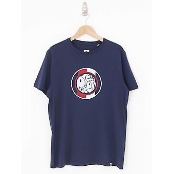 Pretty Green Tilby Logo T.Shirt - Navy