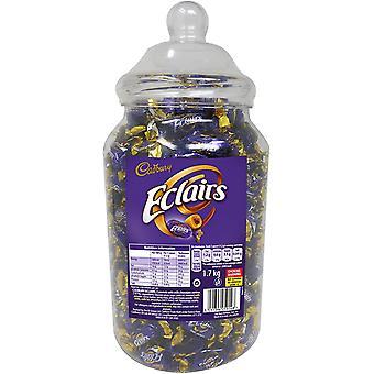 Cadbury Mléčná čokoláda Eclairs Dárková nádoba 1,7kg