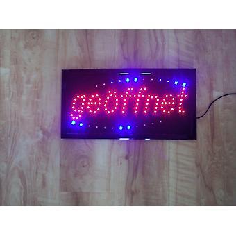 Led Индикатор Свет Освещение Знак (цитата;on'quot; Реклама лампы клип Рекламный знак